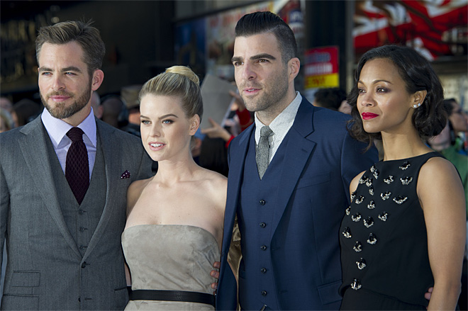 Britain Star Trek Into Darkness Premiere