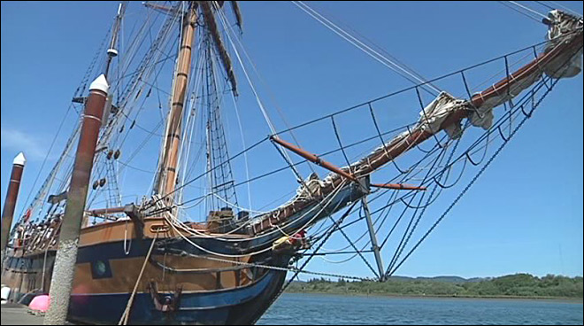 Tall Ship Days sails through Coos Bay