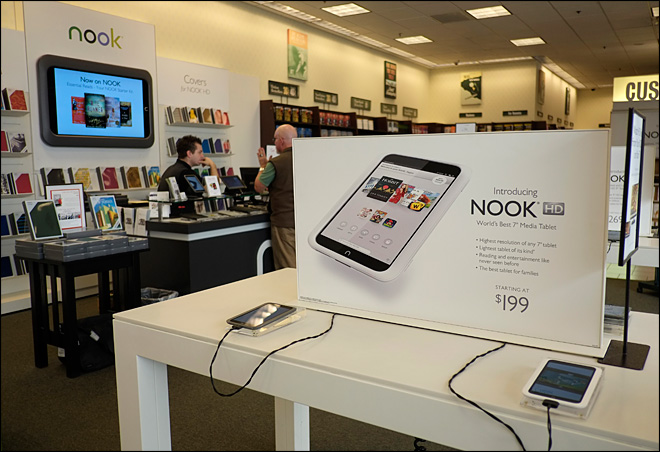 Barnes & Noble adds Google Play app store to Nook HD