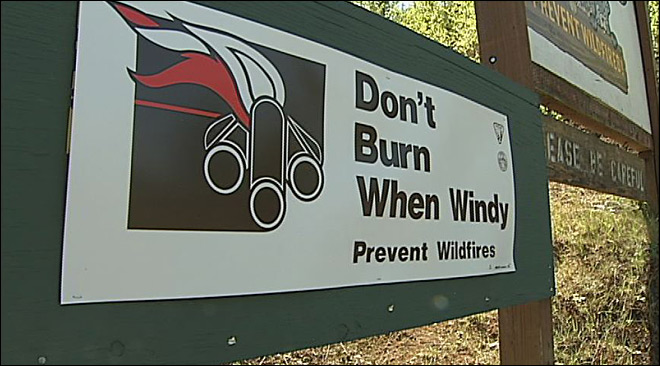 Fire Officials: With the dry weather, it won't take much to start a wildfire
