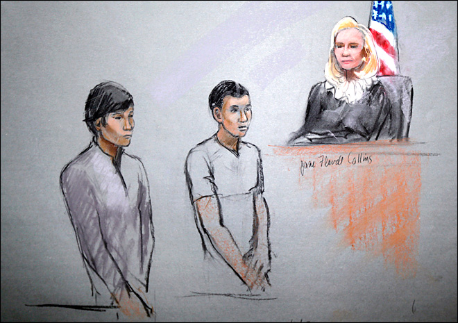 Experts: Feds pressure widow, pals in Boston bomb case