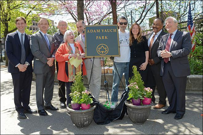 NYC park named after late Beastie Boy Adam Yauch