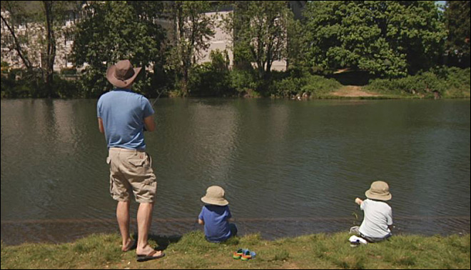 Aspiring anglers reel in free fishing lessons at Alton Baker