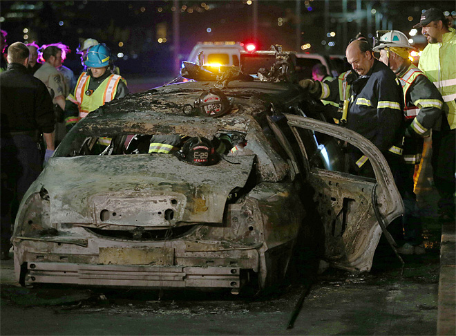 Limo driver, survivor views differ on fatal fire