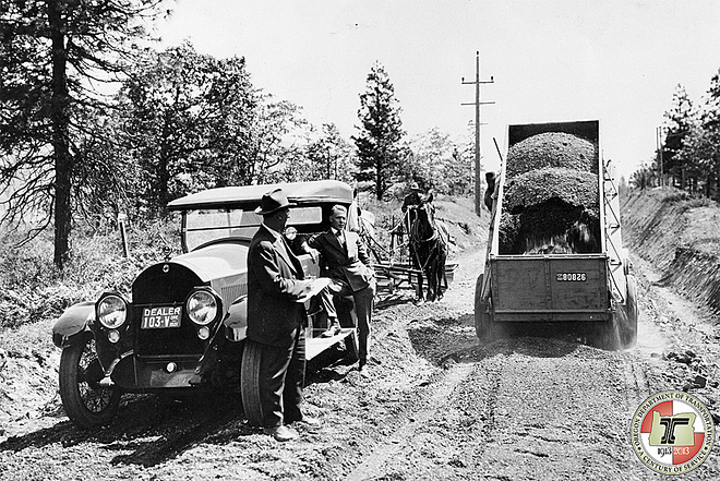 ODOT@100: 'Roads in Oregon were simply improved paths'