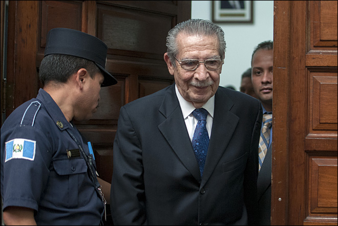 Ex-dictator convicted of genocide in Guatemala