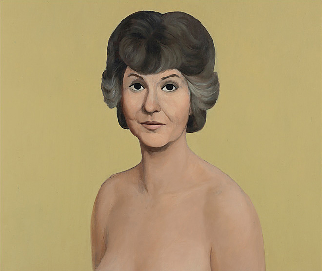 'Golden Girl' Bea Arthur topless painting fetches $1.9M