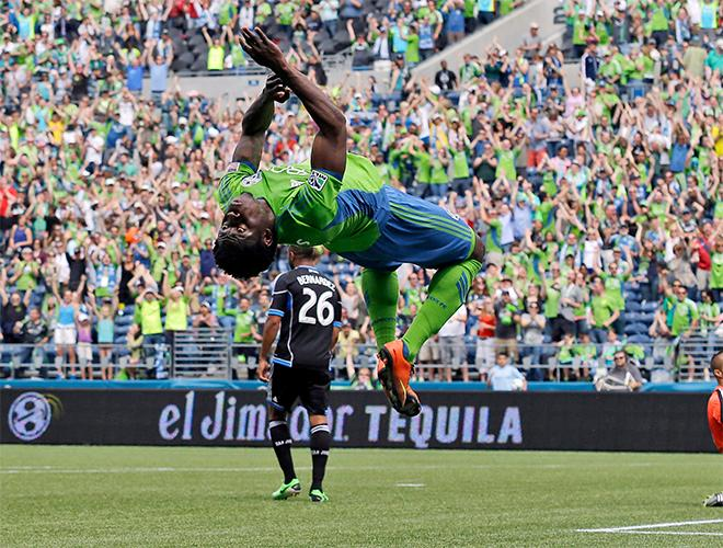 APTOPIX MLS Earthquakes Sounders Soccer