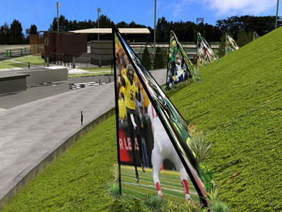 Designer envisions fan &apos;ritual&apos; on Autzen Stadium&apos;s North Berm