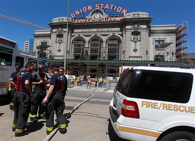 Colorado Union Station Fire