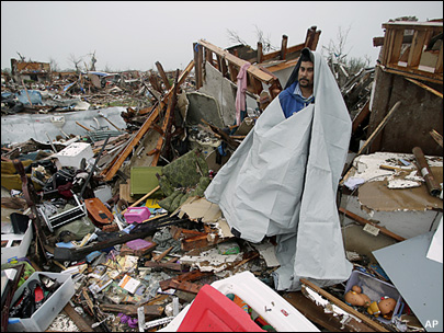 Crews race to find survivors of massive Oklahoma twister