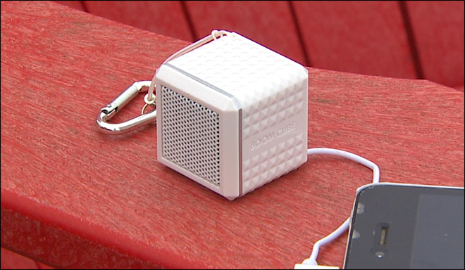 Can the 'Boom Cube' really deliver big sound for $10.99?