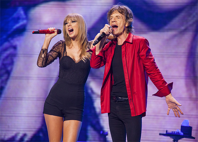 Rolling Stones prove they've still got it, bump Taylor Swift from top spot