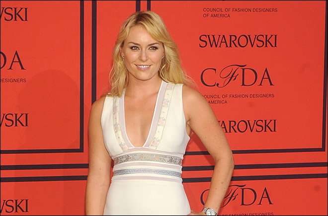 Lindsey Vonn goes from red carpet to drug testing