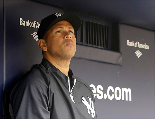 A-Rod getting power back in simulated at-bats