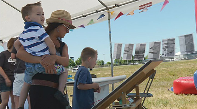 On land and in the sky: 5k on the Runway adds Air Fair