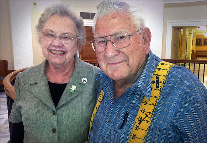 Octogenarian couple completes bucket list by visiting every state capitol