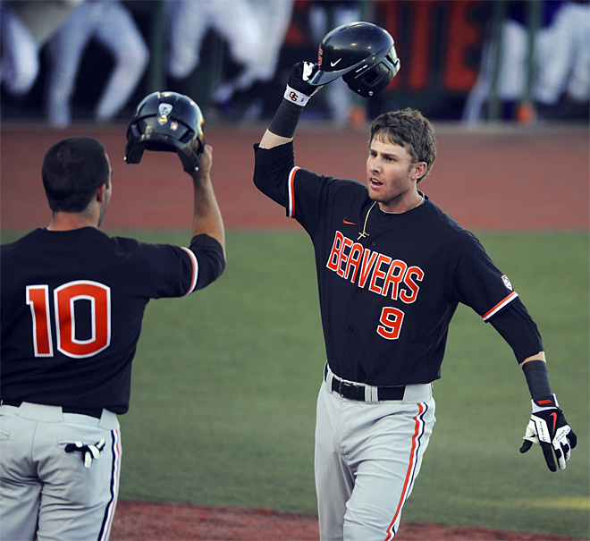 Beavers win 4-3 to advance to College World Series