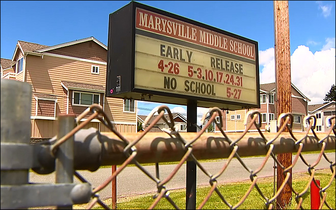School suspends student accused of 'shooting' classmates with hands