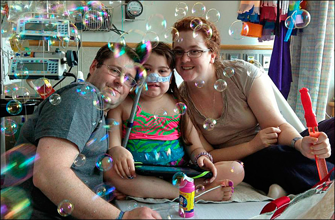 10-year-old girl who took on donor rules gets adult lungs