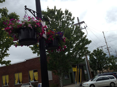 Corvallis decorative baskets: 'Who doesn't like flowers?'