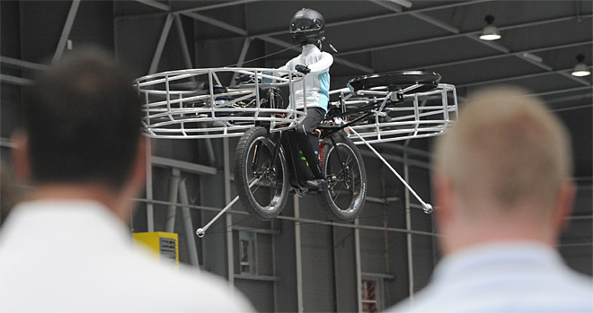 Czech Flying Bike