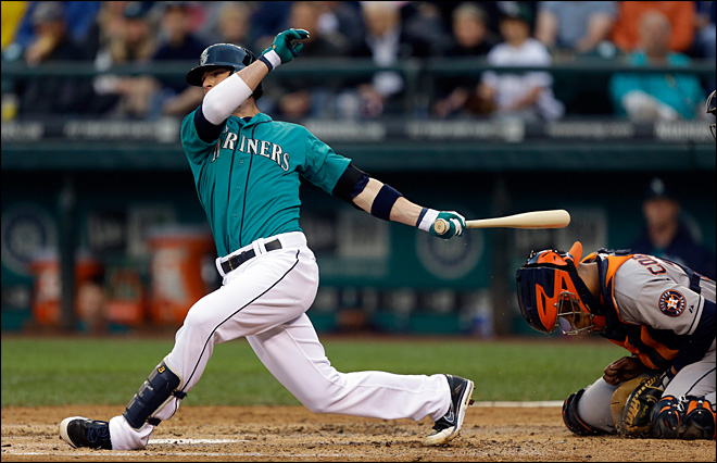 Astros' ninth inning rally sinks M's