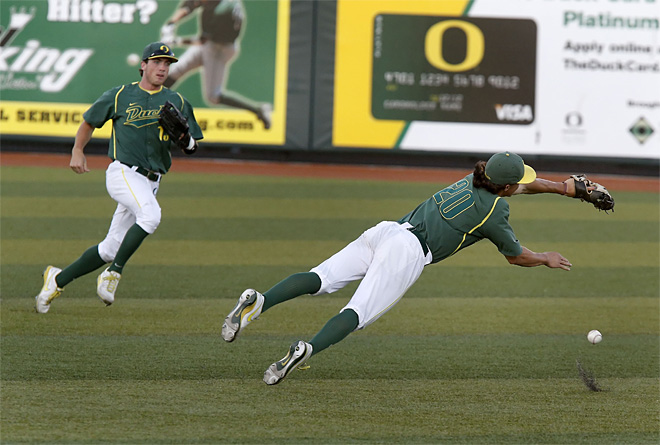 NCAA Rice Oregon Baseball