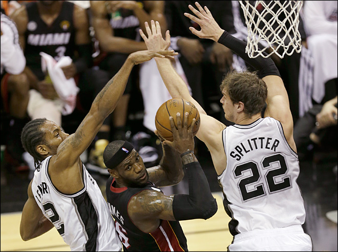 Heat even NBA Finals with Spurs after 109-93 win