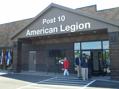 American Legion rebuilds after Fourth of July arson