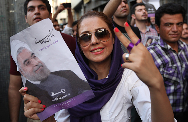 Moderate cleric wins Iran's presidential vote