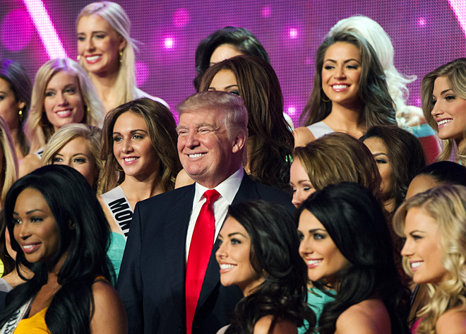 Beauty queens vie for Miss USA crown in Las Vegas