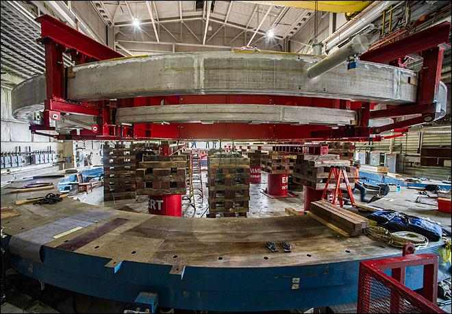 Scientists moving 15-ton magnet to Fermi lab