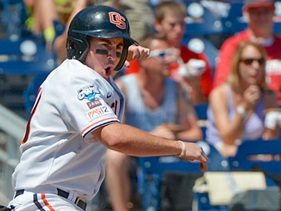 Oregon State wins 11-4, stays alive in College World Series