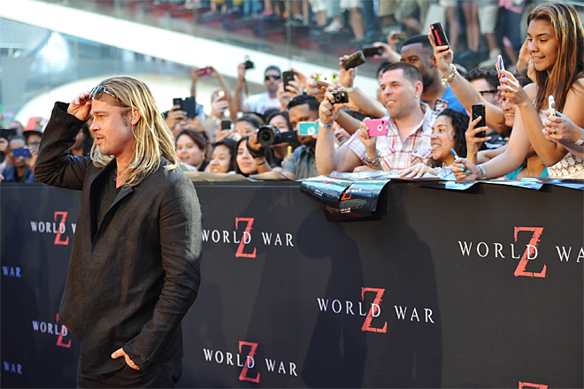 NY Premiere of World War Z
