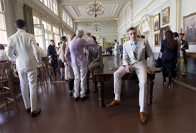 Britain London Men's Fashion Savile Row & St James's