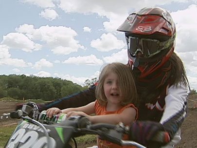 Father-daughter MX racers take aim at amateur championships