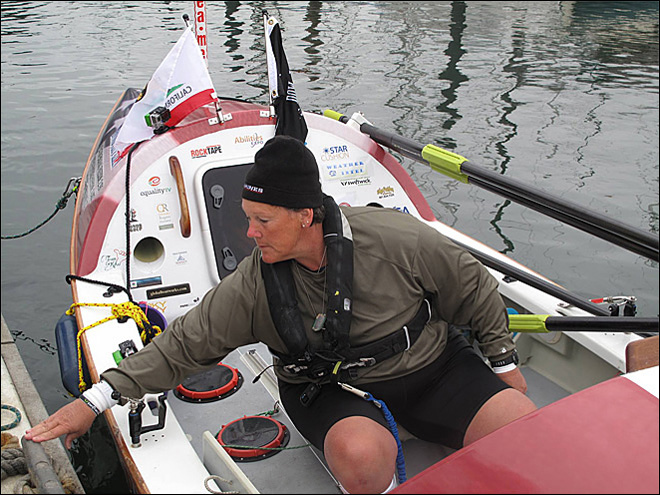 Row of Life: Paralyzed vet tries risky solo trip across Pacific