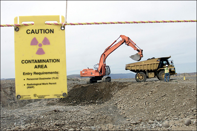 Docs: Some newer storage tanks at Hanford have 'construction flaws'