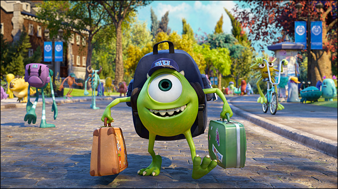 Review: 'Monsters University' gets a passing grade