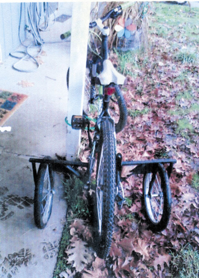 Thief steals bike customized for teen with disability
