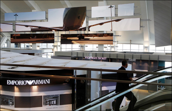 New LAX terminal nearly open with 60 shops