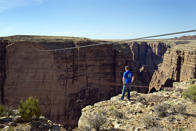 Wallenda Grand Canyon