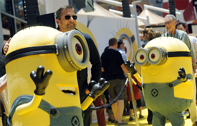 American Premiere of Despicable Me 2 - Red Carpet