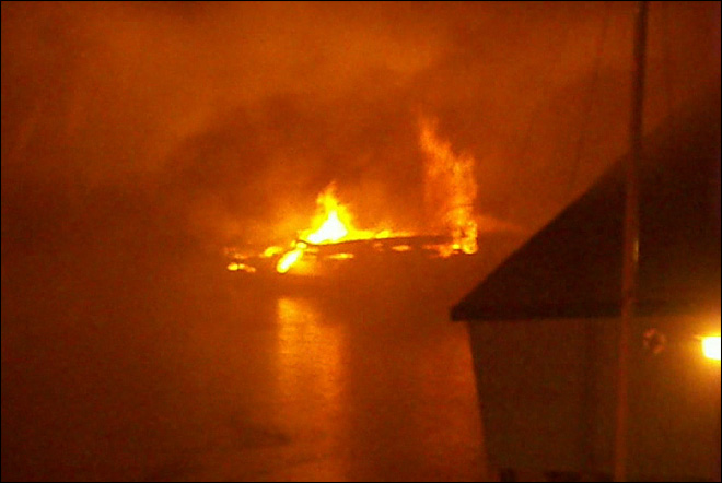2 injured in fire at Washington marina; 12 boats damaged