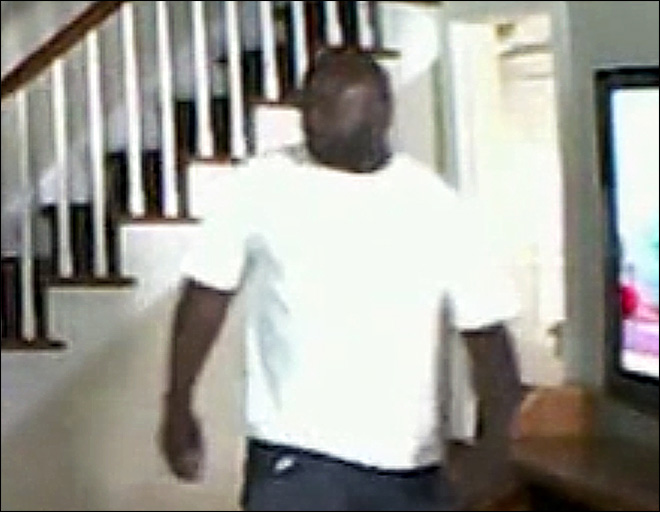 Nanny cam shows intruder beating woman near kid