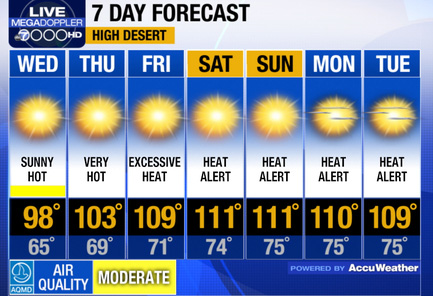 California High Desert Forecast (KABC)