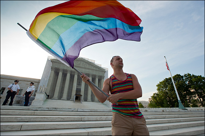 U.S. Supreme Court gives same-sex marriage a historic boost