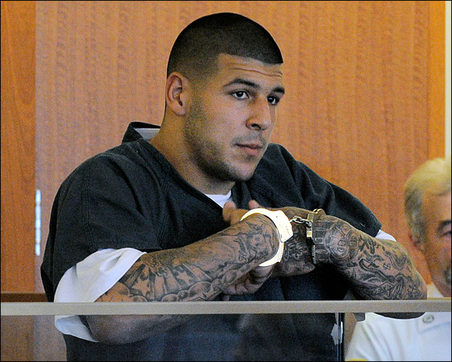 Cops: Double homicide probe tied to ex-NFL star Hernandez
