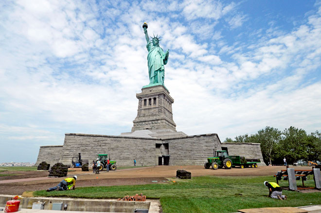 Statue of Liberty, closed since Sandy, reopens on Independence Day